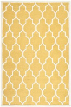 Rugstudio Sample Sale 94120R Gold / Ivory Area Rug