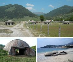 Albanian has 750,000 concrete bunkers built in the 1970 & 80's. Gyler Mydyti and Elian Stefa, want to put those bunkers to use.