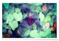 Green Ice as Premium Poster by In Full Color | JUNIQE