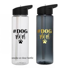 Dog Mom Water Bottle, Dog Lover gift, Gift for dog lover, Mother's Day Gift, Dog Mom Gift, Mom Gift, Dog Lover Cup, Dog Mom Cup by BlueKitty2000 on Etsy