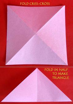 How to Make Lovely Paper Origami Lotus | www.FabArtDIY.com LIKE Us on Facebook ==> https://www.facebook.com/FabArtDIY