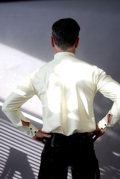 Tuxedo Shirt - Von Gutenberg Couture