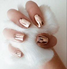 holographic, rose gold, nail polish | TheHunt.com