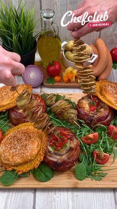 Tasty Videos, Food Videos, Comida Diy, Deli Food, Easy Chicken Dinner Recipes, Cooking Recipes, Healthy Recipes, Tiny Food, Creative Food