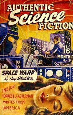 Authentic Science Fiction #19   (Mar 1952)