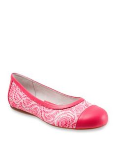 Softwalk Pink Rose Napa Ballet Flat