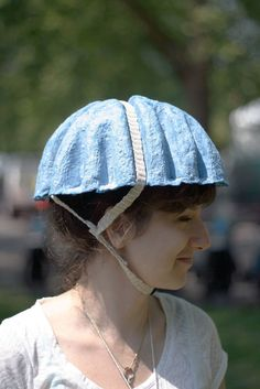 Recyclable bicycle helmet
