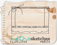 retro sketches : a challenge: retrosketches #139 (again) with 25 Days of Christmas Tags...