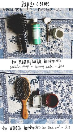 How To Clean Your Hairbrushes Naturally   Free People Blog #freepeople