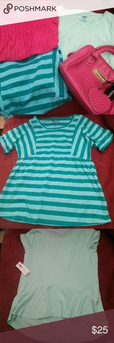 Bundle of 3 Girl's Tops 3 Girl's Tops...all are size S (6-7)...striped top is NWOT...other 2 are NWT Old Navy Shirts & Tops Blouses