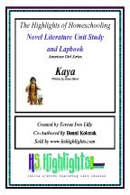 American Girls Series Kaya Novel Literature Unit Study and Lapbook