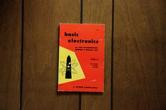 Science Book Basic Electronics by MicroscopeTelescope on Etsy