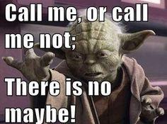 No Maybe!