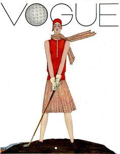 Vogue Flapper Golfer