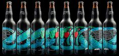 Serpent Cider on Packaging of the World - Creative Package Design Gallery