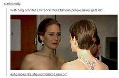 jennifer lawrence quotes   Jennifer Lawrence Meeting Celebs