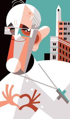 Pope Francis (Papa Francisco) by Pablo Lobato