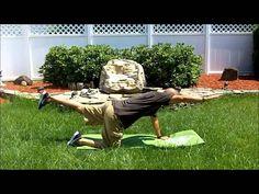 Fibromyalgia Exercise : A Simple stretch for fibromyalgia back pain (+pl...