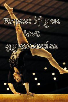 I love gymnastics!!!!!!