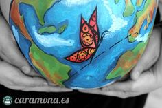 Belly painting world