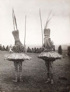"Photographs from Distance and Desire: Encounters with the African Archive: http://nyr.kr/10VCuoK This photo: A.M. Duggan-Cronin, ""Bomvana Initiates,"" South Africa, c. 1930."