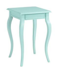 This shade of blue is gorgeous and would be a charming accent. Get it here: www.bhg.com/shop/home-decorators-collection-home-decorators-collection-logan-sunken-pool-end-table-p5047645682a7e04971a4b4e1.html