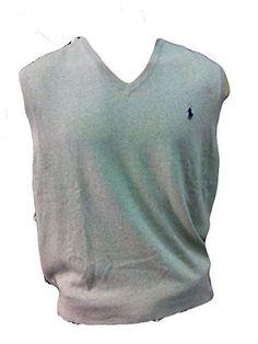 Polo Ralph Lauren Mens Logo Sleeveless Sweater Vest, Light Grey   Pinterest    Polo ralph lauren and Polos