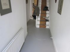 rubber hall floor
