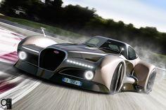 Bugatti 12.4 Concept car