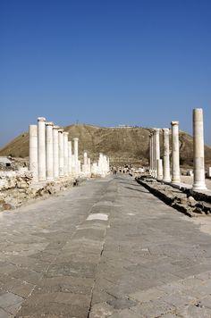 Bet Shean...awesome ruins ~ Israel