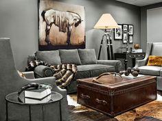 Rustic greige... #interiordesign #inspiration #livingroom #HGTV #homedesign #contemporary #gray #rustic