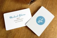 business card. Chez Mike