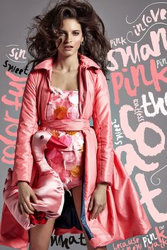 Lenka Srsnova Fashion Editorial on Behance