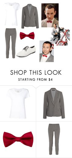 """""""PeeWee Herman"""" by doctorwhofl ❤ liked on Polyvore featuring Max 'n Chester and Theory"""