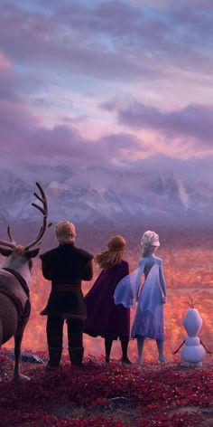Frozen 2, movie, 1080x2160 wallpaper