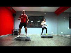 Step Coreografico - lezione 1 - YouTube Step Aerobics, Zumba, Workout Videos, Cardio, Gym Equipment, Fitness, Youtube, Flexibility, Walk In