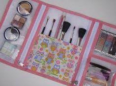 porta maquiagem em tecido - Pesquisa Google