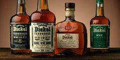 George Dickel Tennessee Whisky - The Dieline -