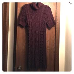 Chris.Ton Brown Sweater Dress Chris.Tan Brown Sweater Dress. Great condition! Chris.Ton Dresses Midi