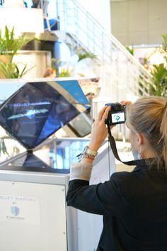 L' #hologramme grand format attire, sublime votre produit et plonge votre client dans une #Réalitéaugmentée