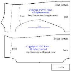 Underwear pattern