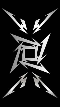 Metallica Logo ~ This one does make a great phone wallpaper! I've used it before and will again.