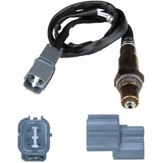 Bosch 13678 Oxygen Sensor, OE Type Fitment Designed to determine the oxygen content of the exhaust gas. Improves fuel economy and lowers emission. Includes four OE wideband wires. Facilitate easy installation. Corrosion resistant.  #Bosch #Automotive_Parts_and_Accessories