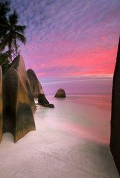 Anse Source d'Argent Beach,Seychelles Island: by goldie