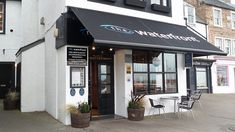 I stayed at The Waterfront in Anstruther on Scotland's east coast on a Sunday night in November I'd been keen to say there for some time, as it gets very East Coast, Cool Places To Visit, The Good Place, Scotland, Restaurant, Outdoor Decor, Blog, Home, Diner Restaurant