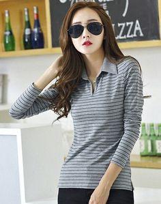 Basic T Shirt Women Long Sleeve Womens Tops 2016 Spring Autumn Tee Shirt Women Korean Style T-Shirt Cotton New Plus Size Tshirt