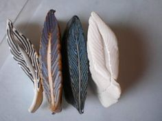 Polymer clay feather cane! | WefollowPics