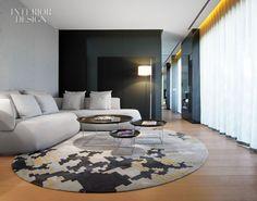 Mandarin Oriental, Barcelona. That rug, what a statement piece