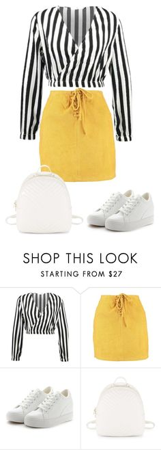 """""""14:05"""" by csajszibarack on Polyvore featuring Boohoo and Steve Madden"""