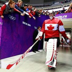 Carey Price 2014 Olympics